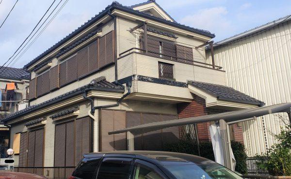 外壁塗装 ツートンカラー:遮熱塗料【川口市】