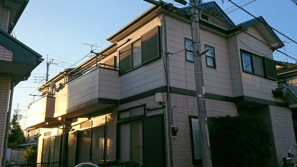 外壁塗装 戸建て 【越谷市】